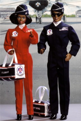 Air Force Thunderbirds Barbie and Ken gift set