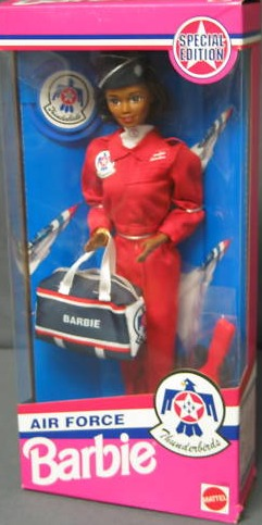 Air Force Thunderbirds Barbie (AA)