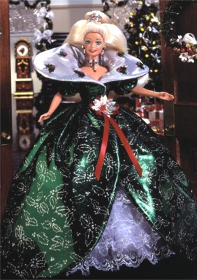 Happy Holidays Barbie 1995