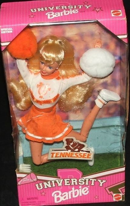 University of Tennessee Barbie Cheerleader Blonde