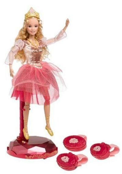 In the 12 dancing princess interactive princess genevieve doll j8865