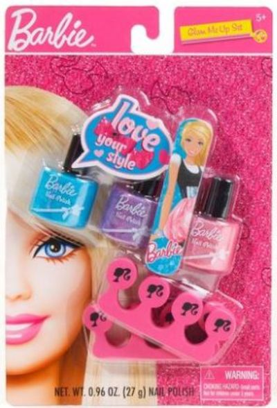 Barbie nail polish set 83085 barbie nail polish set prinsesfo Images