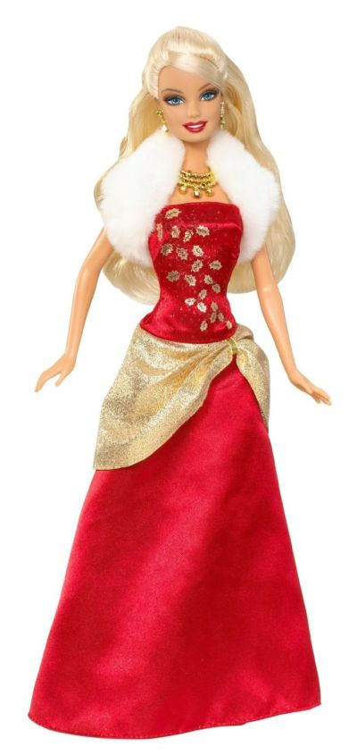 Holiday wishes barbie r6589