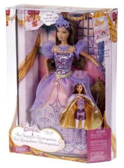 Barbie and The Three Musketeers Viveca Doll P6157