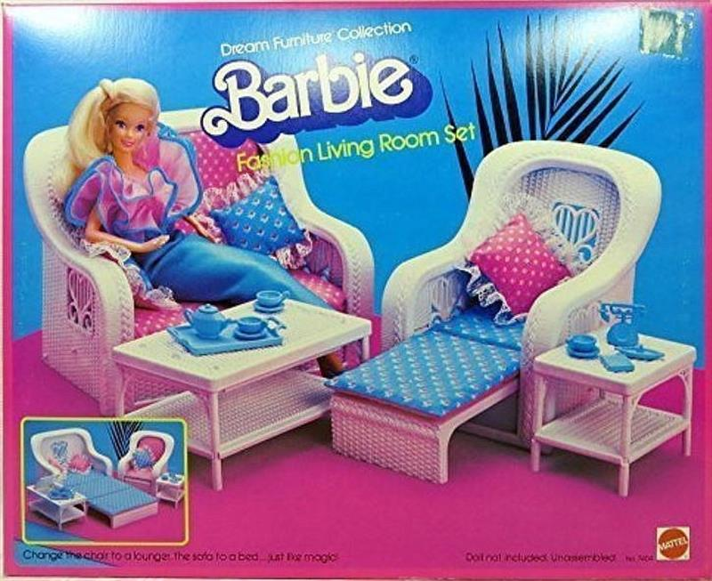 barbie living room set rooms