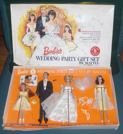 Wedding Gift Set Barbie : Barbie Wedding Party gift set 01017